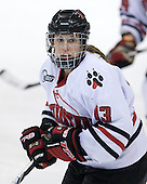 Lindsay Berman (NU - 13) - The Northeastern University Huskies defeated the Union College Dutchwomen 4-1 on Saturday, October 3, 2009, at Matthews Arena in Boston, Massachusetts.