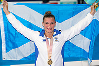 Picture by Alex Whitehead/SWpix.com - 13/04/2018 - Commonwealth Games - Diving - Optus Aquatics Centre, Gold Coast, Australia - Grace Reid of Scotland wins Gold in the Women's 1m Springboard final.