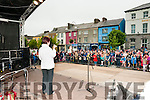 Fleadh Na Mumhan: Kathleen McKenna singing to the crowd  on Friday night last during Fleadh Cheoil na Mumhan in Listowel.