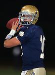Servite @ Notre Dame - Sherman Oaks (CIF Southern Section).Dayne Crist (10).Notre Dame High School Stadium.Sherman Oaks, CA (Los Angeles) - October 5, 2007.KN1R8277.CREDIT: Dirk Dewachter