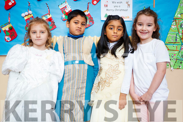 Nikola Jurska, Nafees Rahman, Mubinah Ali Shah, Erin Collins at the Presentation primary School play on Wednesday 13th December.