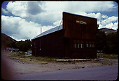 Ohio City Hall on branch line to Pitkin, Colorado.<br /> D&amp;RGW  Ohio City, CO