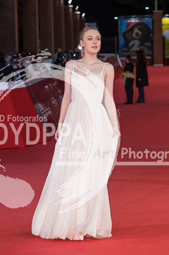 Dakota Fanning bei der Premiere von 'Please Stand By' auf dem 12. Internationalen Filmfestival von Rom / Festa del Cinema di Roma 2017 im Auditorium Parco della Musica. Rom, 31.10.2017