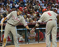 Werth, Jason _6446.jpg Philadelphia Phillies at Houston Astros. Major League Baseball. September 7th, 2009 at Minute Maid Park in Houston, Texas. Photo by Andrew Woolley.