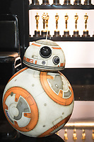 BB-8 poses backstage during the live ABC Telecast of The 90th Oscars&reg; at the Dolby&reg; Theatre in Hollywood, CA on Sunday, March 4, 2018.<br /> *Editorial Use Only*<br /> CAP/PLF/AMPAS<br /> Supplied by Capital Pictures