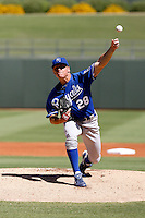 Chris Dwyer - Kansas City Royals 2009 Instructional League. .Photo by:  Bill Mitchell/Four Seam Images..