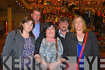 Pictured at Elvis concert at the INEC, Killarney, on Saturday were l-r :Mary O'Donoghue (Listowel) Mike O'Donoghue (Listowel) Veronica Sweeney (Caherciveen) Michael Sweeney (Tralee) and Catherine Sweeney (Tralee).