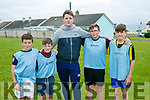 Enjoying the Ballyheigue Summer Festival Soccer Blitz at Marian Park Ballyheigue on Monday were Team 'Thought this was Bingo'  Oran Foley, Liam Foley, Andy Cauley, Barry Scanlon and Luke O'Herlihy