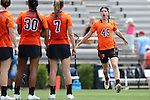 16 May 2015: Princeton's Anya Gersoff (45). The Duke University Blue Devils hosted the Princeton University Tigers at Koskinen Stadium in Durham, North Carolina in a 2015 NCAA Division I Women's Lacrosse Tournament quarterfinal match. Duke won the game 7-3.