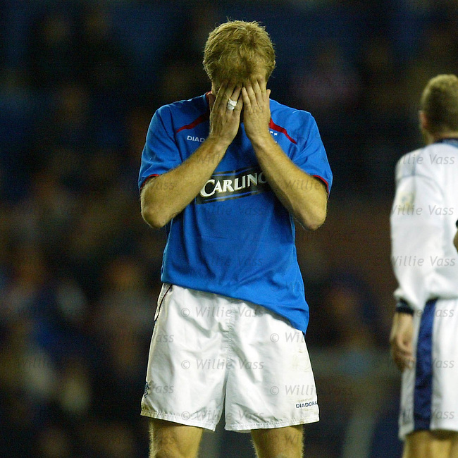 Egil Ostenstad, Rangers.Stock season 2003-2004.pic willie vass