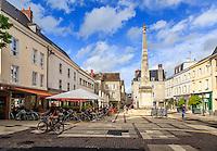 France, Eure-et-Loir (28), Chartres, place Marceau // France, Eure et Loir, Chartres, Marceau Square