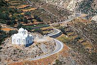 - Naxos island (Cyclades), orthodox church in the hinterland..- isola di Naxos (Cicladi), chiesa ortodossa nell'entroterra .