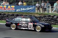 Round 10 of the 1991 British Touring Car Championship. #2 Frank Sytner (GBR). Pyramid Motorsport. BMW M3.