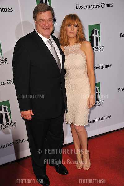 Kelly Reilly & John Goodman at the 16th Annual Hollywood Film Awards at the Beverly Hilton Hotel..October 22, 2012  Beverly Hills, CA.Picture: Paul Smith / Featureflash