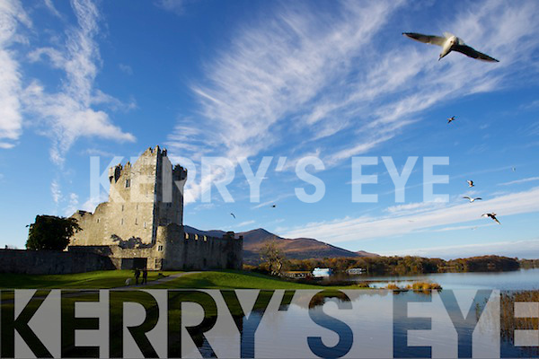 Scenery Photys of Ross Castle, Killarney, County Kerry