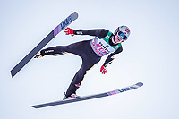 1st January 2020, Olympiaschanze, Garmisch Partenkirchen, Germany, FIS World cup Ski Jumping, 4-Hills competition; Daniel Andre Tande of Norway during his trial Jump for the Four Hills Tournament