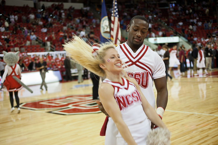 Who's Got Spirit? - NC State University vs Princeton at the RBC Center, Raleigh, NC, Wednesday, November 16, 2011. .