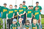 BASEBALL: Members of the Green Sox Baseball Club in Tralee preparing for the national baseball tournament to be held in Tralee on Saturday, front l-r: Ronan Clancy, David Goreansky, Diana Fazilov, Andrei Sucaci. Back, l-r: Max Goreansky, Chris Armstrong, Ben Clancy, Thomas Phelan, Stanislav Goreansky, Matt Clancy, Elaine Clancy, Marsell Fazilov and Andrei Sucaci.   Copyright Kerry's Eye 2008