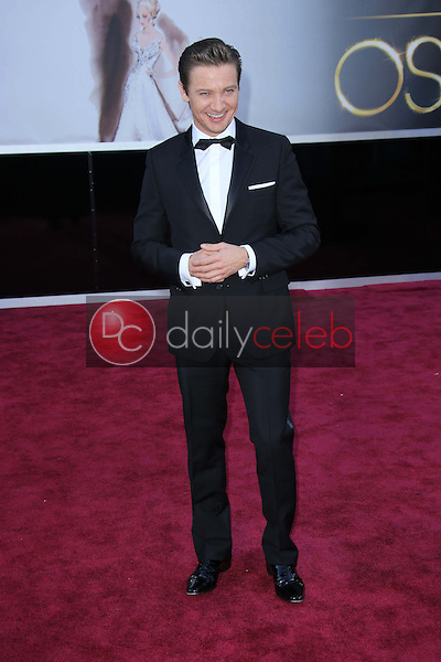 Jeremy Renner<br />