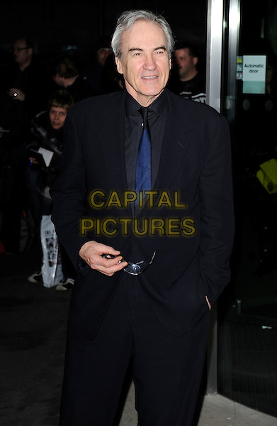 LARRY LAMB .At the Variety Club Annual Dinner & Ball, London Hilton Hotel, Park Lane, London, England, UK, March 13th 2010..half length blue shirt tie black suit navy .CAP/CAN.©Can Nguyen/Capital Pictures