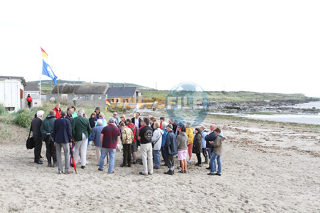 Clogherhead Heritage Walk as part of Heritage Week...Photo NEWSFILE/Jenny Matthews.
