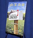 Theatre Poster at The  'The Realistic Joneses'  Meet & Greet  at The New 42nd Street Studios on February 20, 2014 in New York City.