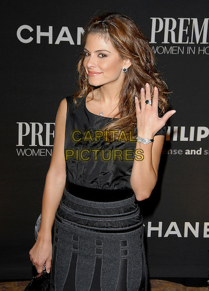 MARIA MENOUNOS.Attends The 13th Annual Premiere Women in Hollywood held at The Beverly Hills Hotel in Beverly Hills, California, USA, September 20th 2006..half length hand ring black dress.Ref: DVS.www.capitalpictures.com.sales@capitalpictures.com.©Debbie VanStory/Capital Pictures