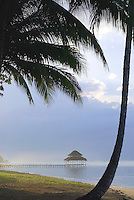 Approaching storm, Bocas Del Toro, Panama