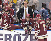 Anthony Aiello, Brian Boyle, John Hegarty, Greg Brown, Mike Brennan, Brett Motherwell, Peter Harrold, Brian O'Hanley - The Boston College Eagles defeated the University of North Dakota Fighting Sioux 6-5 on Thursday, April 6, 2006, in the 2006 Frozen Four afternoon Semi-Final at the Bradley Center in Milwaukee, Wisconsin.