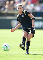24 May 2009: Kristen Graczyk of the FC Gold Pride in action during the game against Los Angeles Sol at Buck Shaw Stadium in Santa Clara, California.  Los Angeles Sol defeated FC Gold Pride, 2-0.