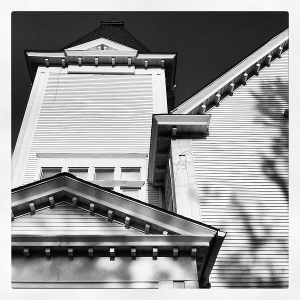 Americana.<br /> <br /> Chruch facade, Columbus, Ohio.