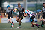 Mourant Osantes Samurai International vs Devil's Advocate Silver Dragons during their Bowl Quarter-final as part of the GFI HKFC Rugby Tens 2017 on 06 April 2017 in Hong Kong Football Club, Hong Kong, China. Photo by Juan Manuel Serrano / Power Sport Images