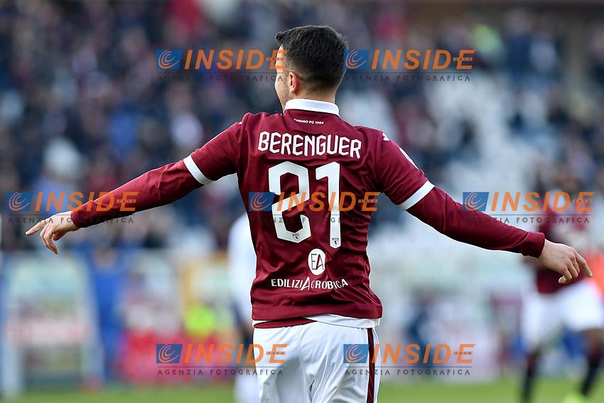 Alex Berenguer of Torino FC  celebrates after scoring the goal of 1-0 <br /> Torino 12/01/2020 Stadio Olimpico <br /> Football Serie A 2019/2020 <br /> FC Torino - Bologna  <br /> Photo Giuliano Marchisciano / Insidefoto