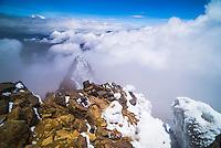 5126m summit of Illiniza Norte Volcano, Pichincha Province, Ecuador