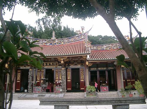 Jin nan temple in Taipei Neihu Taiwan