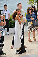 """Thandie Newton at the photocall for """"Solo: A Star Wars Story"""" at the 71st Festival de Cannes, Cannes, France 15 May 2018<br /> Picture: Paul Smith/Featureflash/SilverHub 0208 004 5359 sales@silverhubmedia.com"""