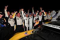 2017 IMSA WeatherTech SportsCar Championship<br /> Mobil 1 Twelve Hours of Sebring<br /> Sebring International Raceway, Sebring, FL USA<br /> Saturday 18 March 2017<br /> 3, Chevrolet, Corvette C7.R, GTLM, Antonio Garcia, Jan Magnussen, Mike Rockenfeller<br /> World Copyright: Richard Dole/LAT Images<br /> ref: Digital Image RD_217_SEB574