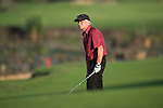 Michael Douglas plays during the World Celebrity Pro-Am 2016 Mission Hills China Golf Tournament on 22 October 2016, in Haikou, China. Photo by Marcio Machado / Power Sport Images