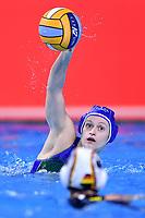 5 ITA QUEIROLO Elisa Italy <br />  <br /> Budapest 12/01/2020 Duna Arena <br /> GERMANY (white caps) Vs. ITALY (blue caps)<br /> XXXIV LEN European Water Polo Championships 2020<br /> Photo  © Andrea Staccioli / Deepbluemedia / Insidefoto