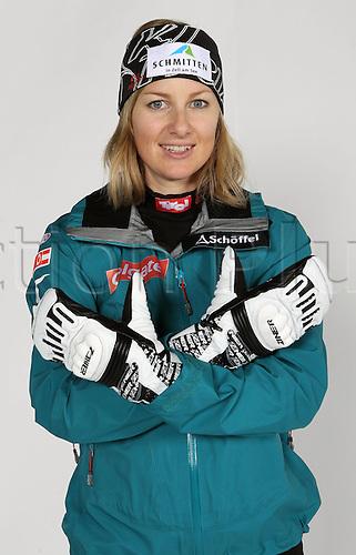 16.10.2010  Winter sports OSV Einkleidung Innsbruck Austria. Snowboarding OSV Austrian Ski Federation. Einkleidung women Picture shows Doris Guenther AUT