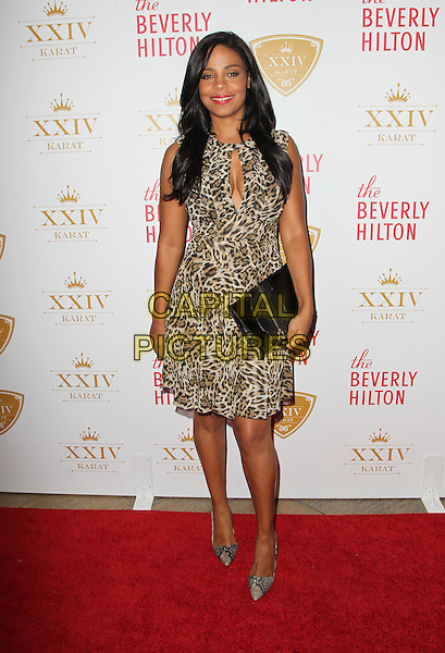 Beverly Hills, CA - October 16: Sanaa Lathan Attending The XXIV Karat Launch Party At The Beverly Hilton At The Beverly Hilton Hotel California on October 16, 2014.  <br /> CAP/MPI/RTNUPA<br /> &copy;RTNUPA/MediaPunch/Capital Pictures