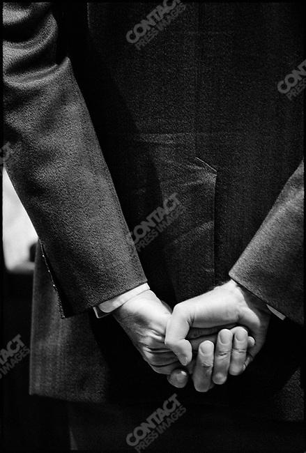 Valery Giscard d'Estaing's presidential campaign, Paris, France, April 1974