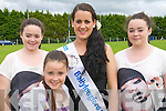 Oyster Festival Queen : Michelle Tydings, Asdee who was crowned Ballylongford Oyster Festival Queen pictured with members of her family Ellen, Christina  & Jessica in front.