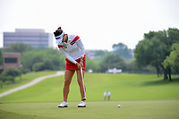 So Yeon Ryu (KOR) watches her putt on 9 during round 2 of  the Volunteers of America Texas Shootout Presented by JTBC, at the Las Colinas Country Club in Irving, Texas, USA. 4/28/2017.<br /> Picture: Golffile | Ken Murray<br /> <br /> <br /> All photo usage must carry mandatory copyright credit (&copy; Golffile | Ken Murray)