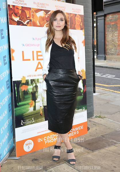 Elizabeth Olsen attending the Liberal Arts screening held at the Everyman cinema, Hampstead, London..16/09/2012 Picture by: Henry Harris / Featureflash