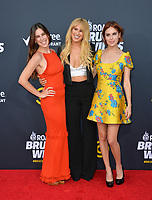 LOS ANGELES, CA - July 14, 2018: Scout Willis, Rumer Willis & Tallulah Willis at the Comedy Central Roast of Bruce Willis at the Hollywood Palladium<br /> Picture: Paul Smith/Featureflash.com