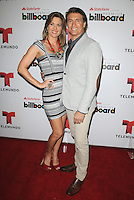 MIAMI, FL - FEBRUARY 05: Sonya Smith and Juan Soler at the Telemundo and Premios Billboard 2013 Press Conference at Gibson Miami Showroom on February 5, 2013 in Miami, Florida. © MPI10/MediaPunch Inc /NortePhoto