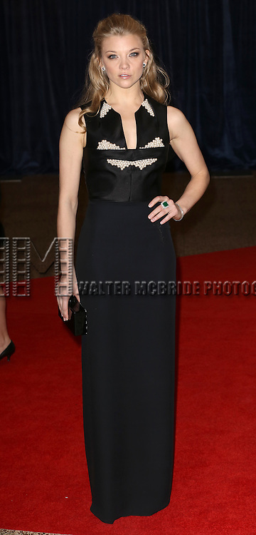 Natalie Dormer  attending the  2013 White House Correspondents' Association Dinner at the Washington Hilton Hotel in Washington, DC on 4/27/2013