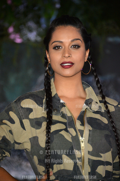 """Lilly Singh at the Los Angeles premiere of """"Jumanji: Welcome To the Jungle"""" at the TCL Chinese Theatre, Hollywood, USA 11 Dec. 2017<br /> Picture: Paul Smith/Featureflash/SilverHub 0208 004 5359 sales@silverhubmedia.com"""