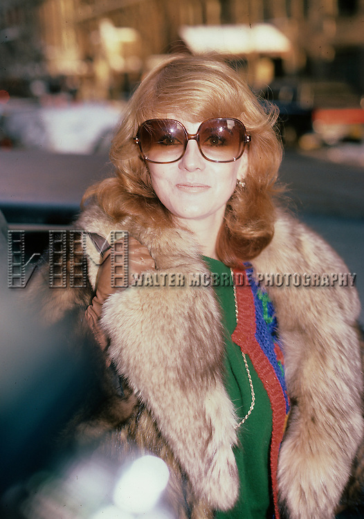 Ann-Margaret pictured in New York City in 1985.